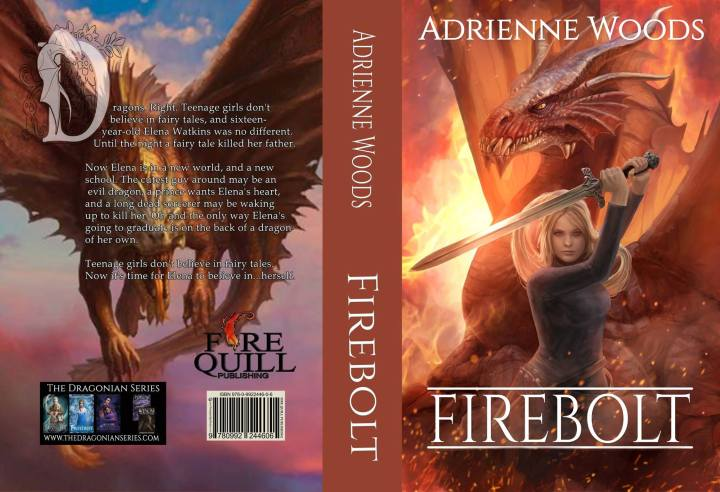 Firebolt, First Chapter (The Dragonian Series #1, by Adrienne Woods)