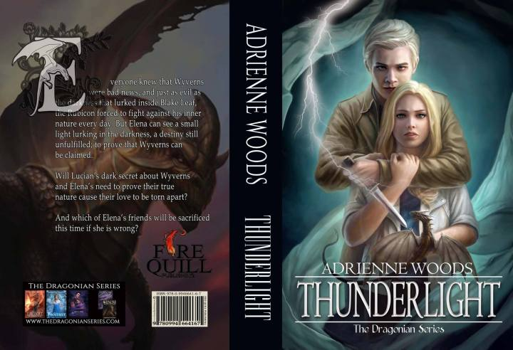 Thunderlight: Chapter One (The Dragonian Series #2, by Adrienne Woods)