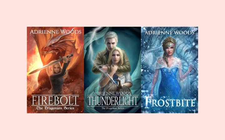 The Dragonian Series, by Adrienne Woods