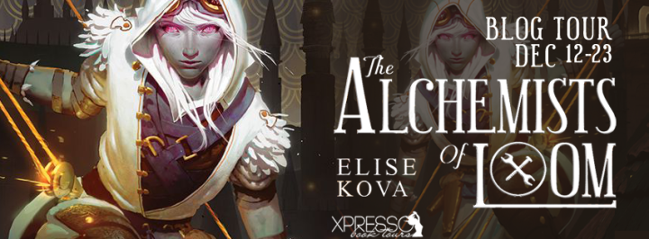 Book Review & Giveaway| The Alchemists of Loom by Elise Kova