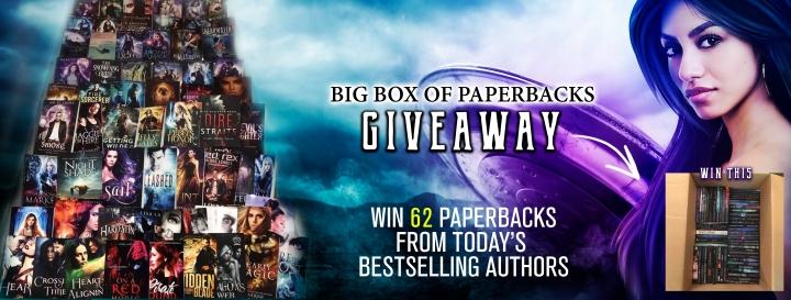 Giveaway: Big Box of Paperbacks!