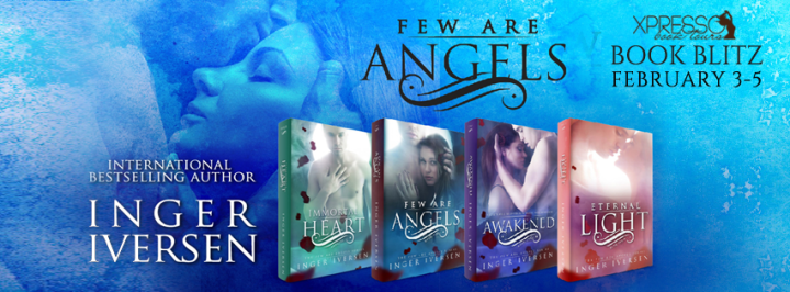 Book Blitz & Giveaway|Few Are Angels by Inger Iversen